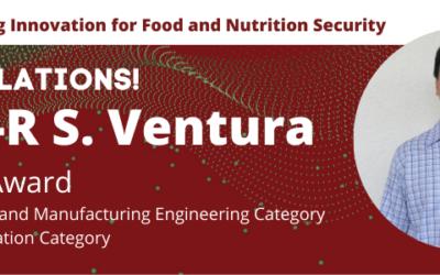 Dr. Ventura Received Awards in ISAT-19